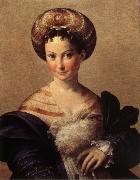 Portrait of a Young Woman PARMIGIANINO