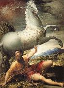 The Conversion of St Paul PARMIGIANINO