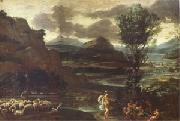 Herminia with the Sheperds (mk05) Domenichino
