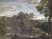 Landscape with the Flight into Egypt (mk05) Domenichino