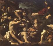 The Raising of Lazarus (mk05) Giovanni Francesco Barbieri Called Il Guercino