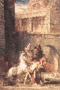 Diomedes Devoured by his Horses Gustave Moreau