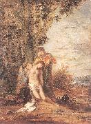 Saint Sebastian and the Holy Women Gustave Moreau