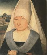 Portrait of an Old Woman (mk05) Hans Memling