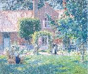 The Unpretentious Garden Melchers, Gari Julius