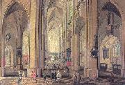 Interior of the Cathedral at Antwerp Neeffs, Peter the Elder