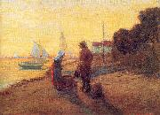 Shore Scene: Sunset Newman, Willie Betty