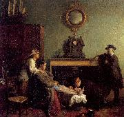 A Mere Fracture Orpen, Willam