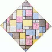 Composition with Grid VII Piet Mondrian