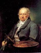 The Painter Francisco de Goya Portana, Vicente Lopez