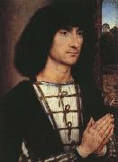 Portrait of a Praying Man.(mk08) Hans Memling