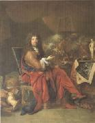 Charles Le Brun Painter to the King (mk05) Largillierre
