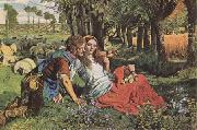The Hireling Shepherd (mk09) William Holman Hunt