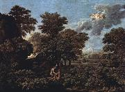 Hut and Well on Rugen (mk10) Nicolas Poussin