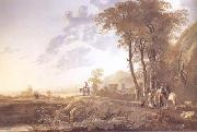 An Evening Landscape (mk25) Aelbert Cuyp