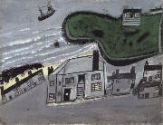 The Hold House Port Mear Square Island port Mear Beach Alfred Wallis