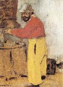 Portrait of Toulouse Lautrec Vuillard