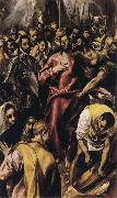 The Despoiling of Christ El Greco