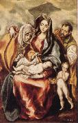 The Holy Family with St Anne and the Young St JohnBaptist El Greco