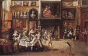 Supper at the House of Burgomaster Rockox Frans Francken II
