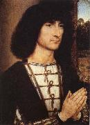 Portrait of a Praying Man Hans Memling
