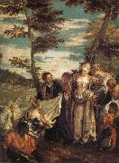 The Finding of Moses Paolo Veronese