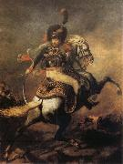 Officer of the Imperial Guard Theodore Gericault