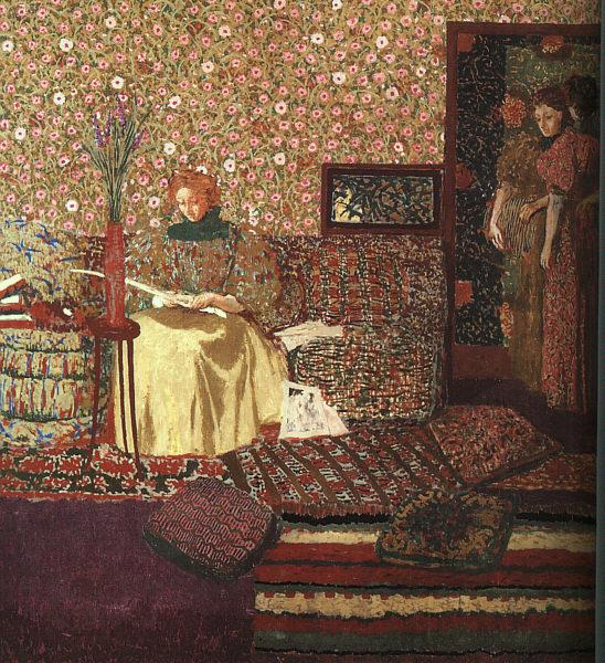 Edouard Vuillard The Reader