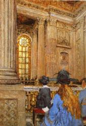 Edouard Vuillard The Chapel at the Chateau of Versailles