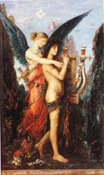 Gustave Moreau Hesiod and the Muse