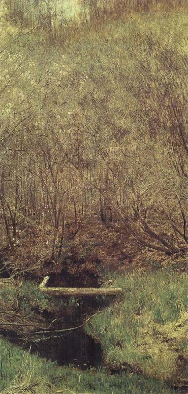 Isaac Levitan Spring in the Wood