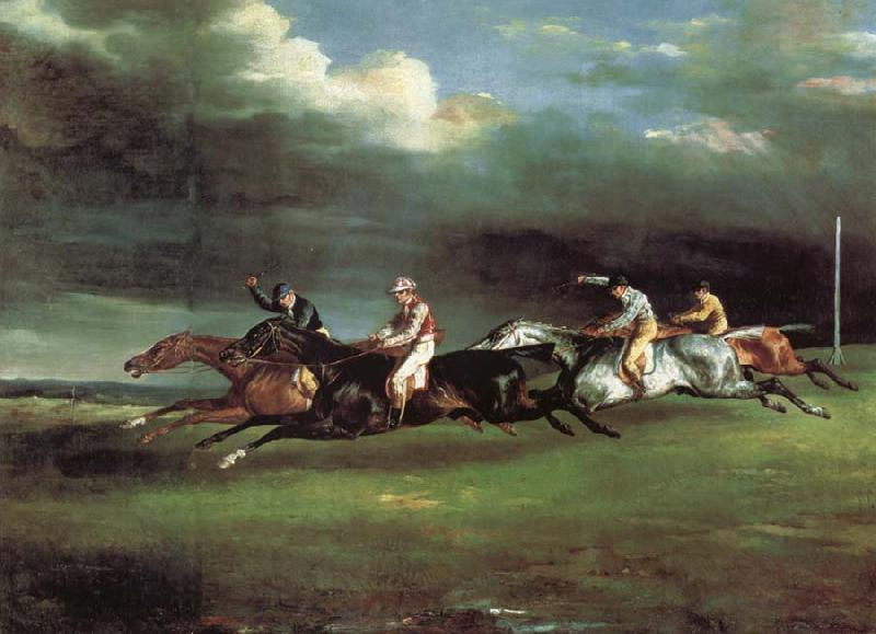 Theodore Gericault The Derby at epson