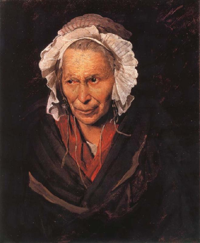 Theodore Gericault Madwoman afflicted with envy
