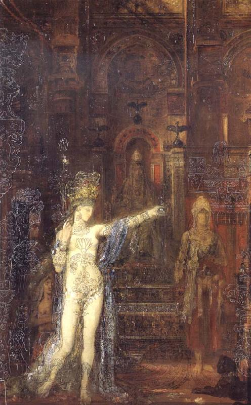 Gustave Moreau Salome Dancing