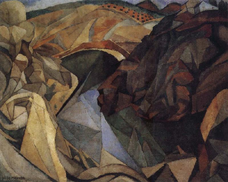 Edouard vuillard museum landscape of spanish diego rivera for Diego rivera lenin mural
