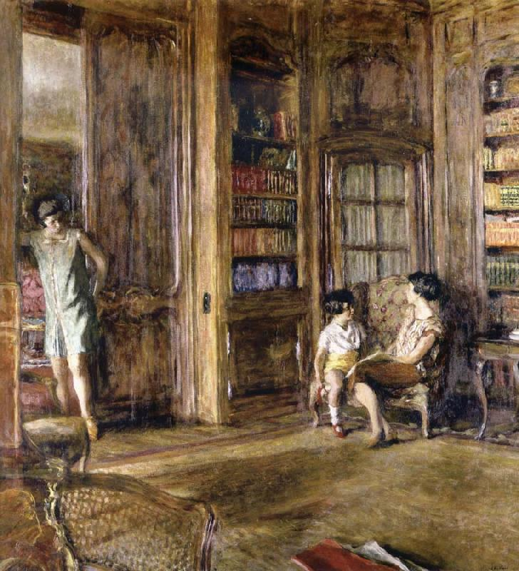 Edouard Vuillard Paintings Edouard Vuillard in The