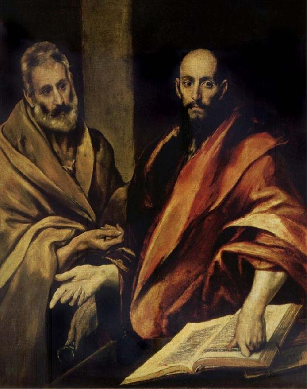 El Greco St Peter and St Paul