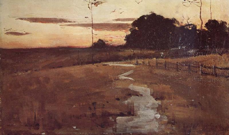 John Longstaff Twilight Landscape