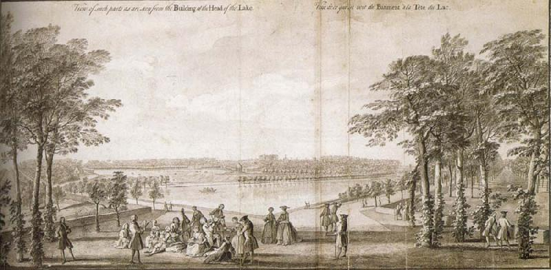 Jacques Rigaud View of such parts as are seen from the Building at the Head of the Lake
