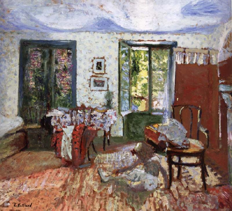 Edouard Vuillard Annette in the Bedroom