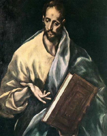 El Greco Apostle St James the Less