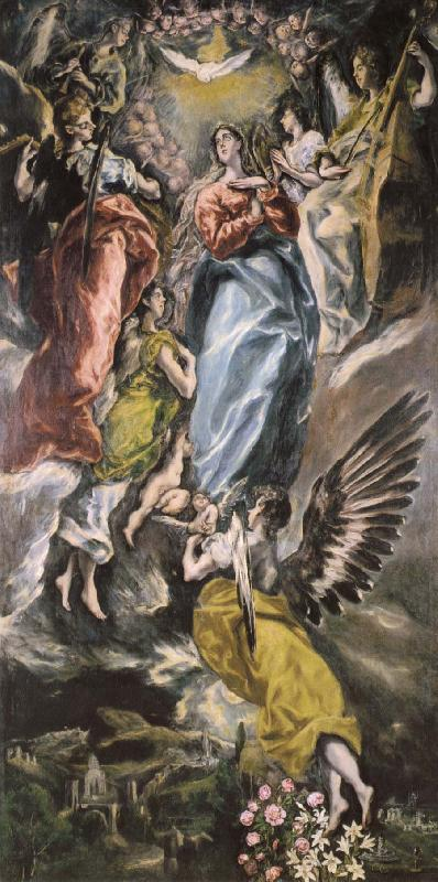El Greco The Immaculate Conception