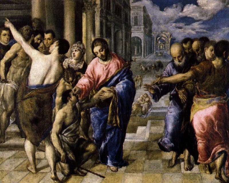 El Greco Christ Healing the Blind