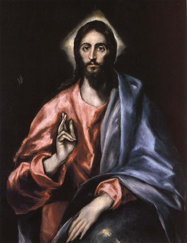El Greco Christ as Saviour