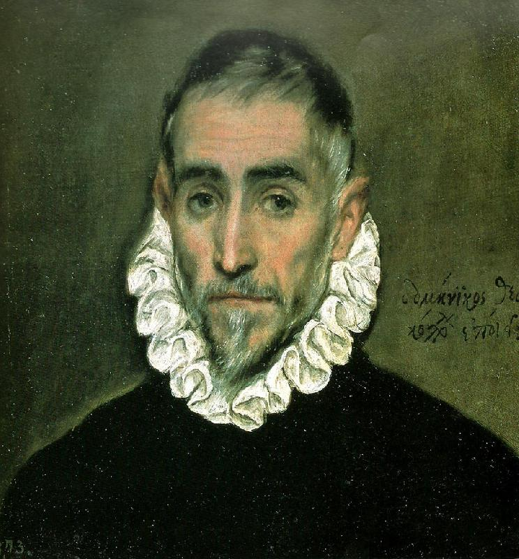 El Greco an unknown man