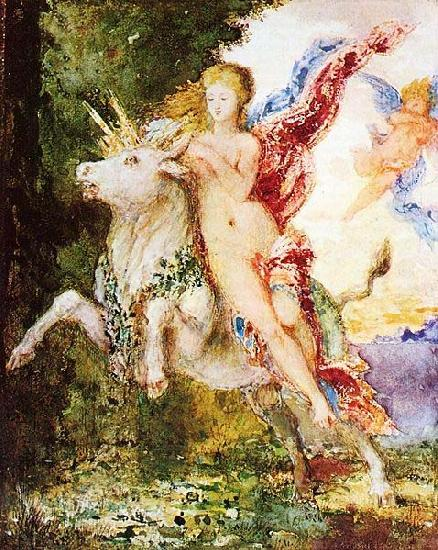 Gustave Moreau Europa and the Bull