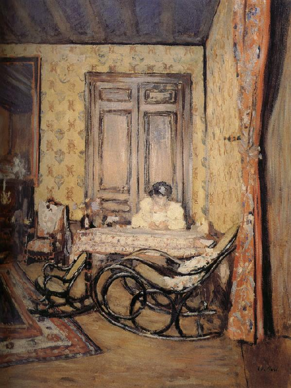Edouard Vuillard Indoor rocking chair
