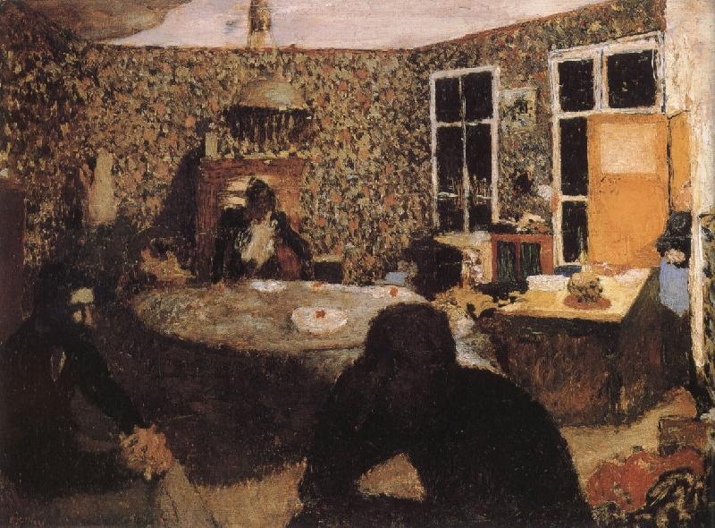 Edouard Vuillard At night
