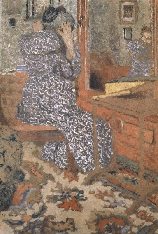 Edouard Vuillard The mother s hair grown