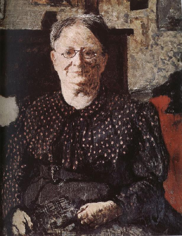Edouard Vuillard Mother glasses Vial